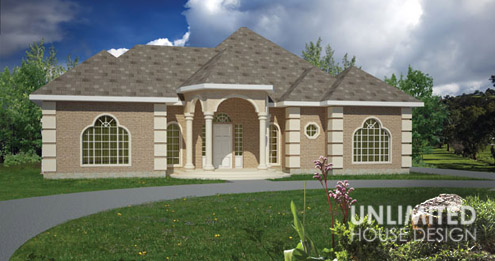 Unlimited house design the clara stock plan for Home designs unlimited